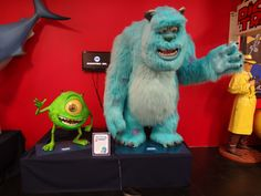 Monster's Inc., waiting to see you at the Volo Auto Museum in the new Disney Exhibit, Volo, IL.   www.volocars.com