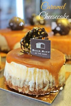 Serving all the caramel lovers this delightful treat. A traditionally crafted Cheese Cake drenched in a luscious, syrupy handmade caramel. - Oh la la caramel :)