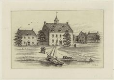 The first hotel of New York City AKA New Amsterdam, 1642