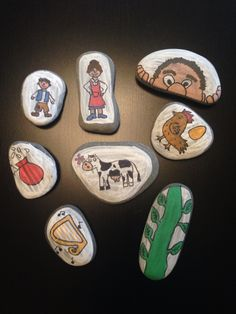 Jack and the beanstalk story stones