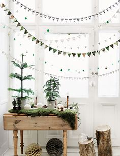 Source: Swedish Elle Interiör | Photographer: Petra Bindel | Stylist ... Minimalist Christmas decor ideas - visit diychristmasdecorations.net for more minimalist christmas decor ideas.