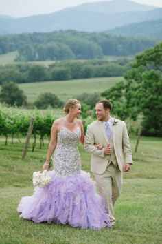 Lilac Wedding Dress from www.weddingdressfantasy.com #lilac #wedding #dress #bridal #gown #purple #lavender #vineyardwedding #vineyard #winery #rustic #rusticwedding #winerywedding