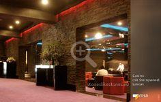 MSD-Steinpaneel Lascas von StoneslikeStones in einem Casino - 01865