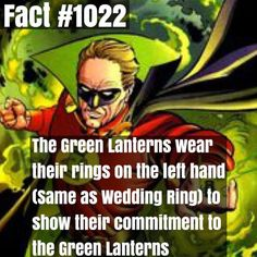 Side fact : Alan Scott is left handed by superhero_facts_daily x...