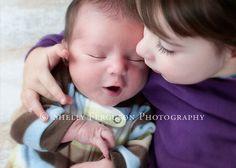 big sister + newborn photo   shelly ferguson photography