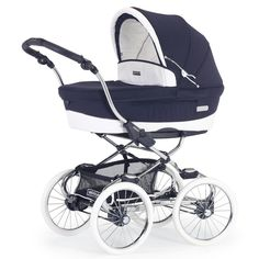 Kinderwagen dunkelblau EM307  Magic Collection Stylo Class