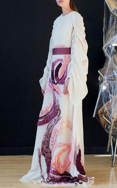 Zariah Embroidered Dress by ROKSANDA