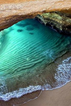 Benagil Sea Cave Beach – Algarve, Portugal! Click through to see 15 more of the world's most unique & awesome beaches!