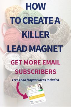 How To Create A Lead Magnet: Get More Subscribers  Honestly speaking, to create a lead magnet and get more subscribers is not a rocket science and you don't even need an engineering degree.  Convert your blog readers into email subscribers! Read now >>>