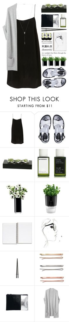 """""""!!06.06"""" by yexyka ❤ liked on Polyvore featuring River Island, Korres, LSA International, Bodum, Karl Lagerfeld, Madewell, ASOS, Organic by John Patrick and Natalie B"""