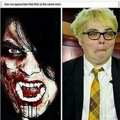 sometimes i wonder how he is the same specimen... and what planet is he from???