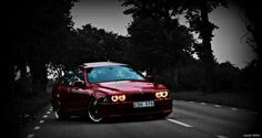 BMW E39 5 series red