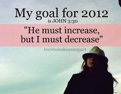 ---> John 3:30
