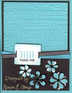 splitcoaststampers cuttlebug | Cuttlebug Birthday CC95 by jpmayo - Cards and Paper Crafts at ...