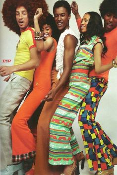 Soul Train Fashion 1970s