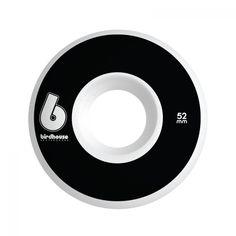 Ride like the Hawk! Pack of 4 wheels, Birdhouse branding, B Logo graphic, 52mm…