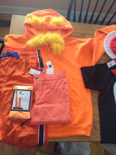 Lorax inspired hoodie for adult dr seuss cartoon by poppitypop lorax costume for school solutioingenieria Choice Image