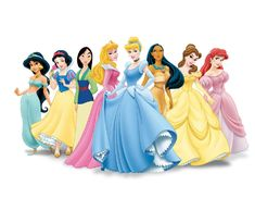 Roy Disney considered it heresy to lump together princesses from different stories when marketing them That is why when they appear in the same image, they never make eye contact. Each stares off in a slightly different direction, as if unaware of the others' presence. When you realize it, it's freaky...
