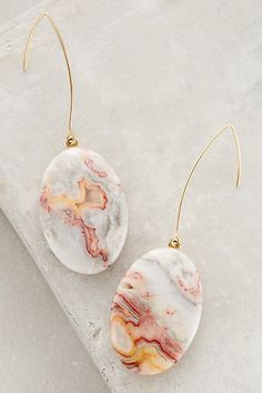 Anthropologie EU Sunset Field Earrings