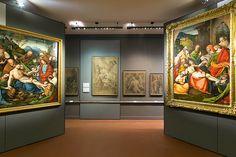 """Accademia Albertina di Torino. Mostra """"Gaudenzio Ferrari e Bernardino Lanino, Cartoni e dipinti a confronto""""."""