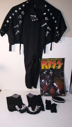 Official KISS Gene Simmons Toddlers The Demon Costume Outfit Halloween Halloween Kiss, Halloween Outfits, Halloween Costumes, Demon Costume, Misfit Toys, Gene Simmons, Toddler Costumes, Toddlers, Sweatshirts