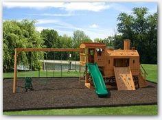 Train Swing Set Carolina Playsets Childrens Outdoor