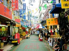Pusan, South Korea A fun and interesting place to visit.