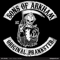 [Original Prankster] by Neilss1 is being reviewed on www.ShirtRater.com!  #Batman #SOA #sons of anarchy