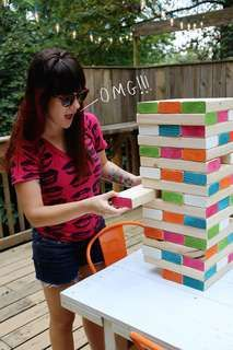 24 Creative DIY Games - From DIY Giant Jenga Games to Recyclable Ball Games