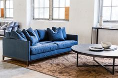 The Banjo occasional sofa is 2100 W. x 580 H. x 950 D. It features a removable cover made from Italian linen available in 2 colours. The Frame is a solid timber construction. Deep Seated Sofa, Mcm House, Timber Table, Pink Sofa, Modular Sofa, Scatter Cushions, Soft Furnishings, Contemporary Furniture, Slipcovers