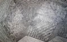 Twisted Hourglass Generator III – 2013 graphite on paper 60″ x 96″