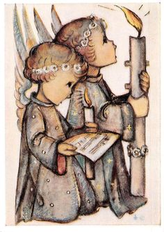 "Vintage Unused Greeting Cards ARS Sacra Hummel ""Happy Eastern""1629"" | eBay"