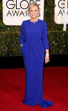 Amy Poehler, Chrissy Teigen and More Cover-Up at 2015 Golden Globes | E! Online Mobile