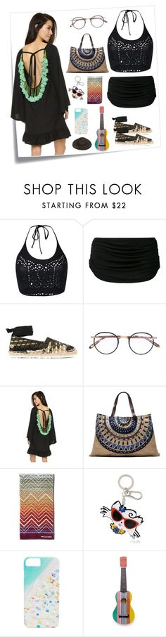 """Want To Try This..??"" by yagna ❤ liked on Polyvore featuring Post-It, Ermanno Scervino, Norma Kamali, Pierre Hardy, Garrett Leight, The Beach People, Missoni, Karl Lagerfeld, Gray Malin and Sunnylife"