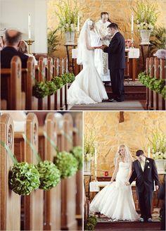 church decor Thanks wedding-inspiration :)