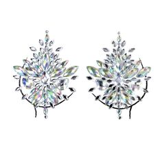Face Gems, Body Jewellery, Silver Diamonds, 1 Piece, Bling, Jewels, Crystals, Stickers, Festival Fashion