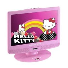 1000 images about 15 inch lcd tv on pinterest dvd players progressive scan and tvs - Hello kitty fernseher ...