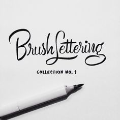 Just posted Brush Lettering Collection No. 1 on Behance, which is an exploration of achieving different brush script lettering styles using one writing instrument - a Copic Sketch marker. Be.net/neilsecretario