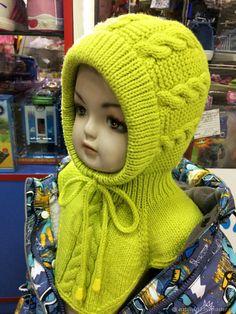 """Купить или заказать Вязаная шапка """"BaBY""""шапка-шлем в интернет магазине на Ярмарке Мастеров. С доставкой по России и СНГ. Материалы: шерсть, полушерсть, хлопок. Размер: разные"""