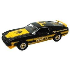 1971 Pirates MLB 1:18 1971 Ford Mustang World Series Edition by ERTL  $24.18