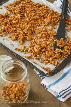 Don't buy fancy store bought granola when it's so much cheaper and easier to make this Honey Nut Granola.