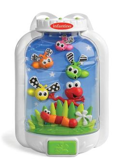 * infantino firefly soother w/lullabys & nature sounds (music, lights & music, or lights & motion)