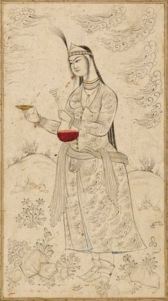 A persian miniature by mohammad Yousef 16th century