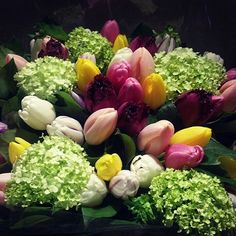 A frolic through the garden has brought these gorgeous spring sweets  Like a moth to a flame, we're drawn to the deep plum wine frill tulips  #gifvancouver #flowers #florist #floral #mothernature #gift #vancouverspring #spring #bouquet #garden #frolic #candy #fireworks