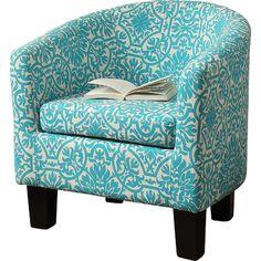 iNSTANT HOME Florinio Slim Fit Barrel Club Chair & Reviews | Wayfair