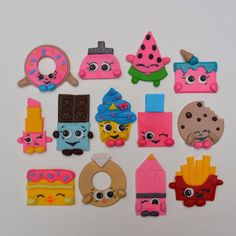 Shopkins edible cupcake topper Shopkins by AmoreConfections