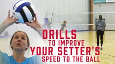 Setters have a tendency to wait too long to head to the net. Use these drills to help setters recognize WHEN to leave and HOW to get there quickly! Volleyball Warm Ups, Volleyball Skills, Volleyball Practice, Volleyball Setter, Volleyball Clubs, Volleyball Training, Volleyball Workouts, Volleyball Quotes, Coaching Volleyball