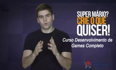 Como aprender a programar e criar seus próprios Jogos Online: Curso Online Desenvolvimento de Games Completo Danki Code Super Mario, Ecards, Memes, Shopping, Online Games, Overhead Press, You Complete Me, E Cards, Meme