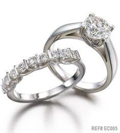 Arthur Kaplan Eternity and Solitaire diamond rings