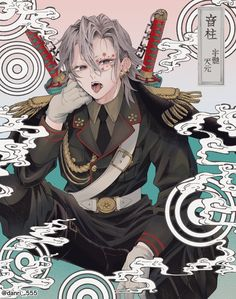 One short/doujinshi về Uzen - Music (part Anime Angel, Anime Demon, Manga Anime, Anime Art, Demon Slayer, Slayer Anime, Fanarts Anime, Anime Characters, Character Art